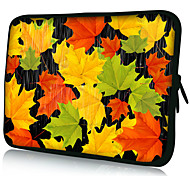 """Maple Leaf""Pattern Nylon Material Waterproof Sleeve Case for 11""/13""/15"" Laptop&Tablet"