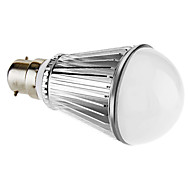 7W B22 Bombillas LED de Globo A60(A19) 7 LED de Alta Potencia 450 lm Blanco Natural Regulable AC 100-240 V