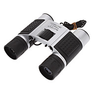 8x21 Super Mini Fashionable Folding Outdoor Binocular Telescope (Silver)