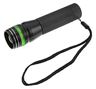 GTQQ SA-501 Focus Adjustable Zoom 3-Mode LED Flashlight (Assorted Colors, 120LM, 1xAA)