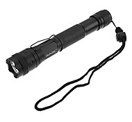 LED Flashlights / Handheld Flashlights LED 3 Mode 200 Lumens Strike Bezel / Rechargeable / Tactical / Self-Defense Cree XR-E Q5 16340 / AA
