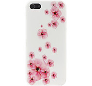 Peach Blossom Pattern Hard Case for iPhone 5/5S