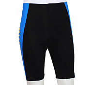 KOOPLUS® Cycling Padded Shorts Men's Bike Breathable / Wearable / Reflective Strips / 4D Pad Shorts / Bottoms 100% Polyester Patchwork