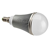 7W E14 Bombillas LED de Globo A60(A19) 7 LED de Alta Potencia 630 lm Blanco Natural Regulable AC 100-240 V