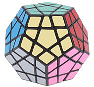 ShengShou Dodecahedron 12 Color Megaminx Magic Cube (Black Base)