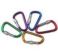 "8cm Aluminium Alloy ""D"" Pattern Hook (Random Colors)"