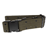 High Quality Waistband Pistol Belt with Quick Release Buckle - Army Green