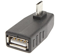 USB/A to Micro 5Pin USB F/M Adapter
