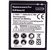Cell Phone Battery for Samsung Galaxy i9100(3.7V, 1800mAh)