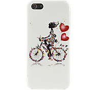 Bike Pattern Hard Case for iPhone 5/5S