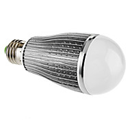 E26/E27 9 W 9 High Power LED 570 LM Warm White A60(A19) Globe Bulbs AC 85-265 V