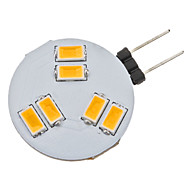 G4 2W 6 SMD 5630 160 LM Warm wit 2-pins LED-lampen AC 12 V