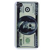 Dólar de impresión de nuevo caso para el iPhone 4/4S