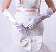 Elbow Length Fingertips Glove Satin Party/ Evening Gloves/Bridal Gloves