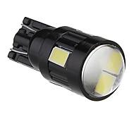T10 2W 6x5730SMD Weißlicht-LED-Lampe für Auto-Lampe (DC 12V)