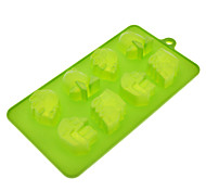 Cartoon Vehicle Theme Silicone Cake Cookie Mould