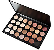 28 Colors 5in1 Makeup Base Primer Foundation Blusher Bronzer Smoky Eyeshadow Professional Cosmetic Palette