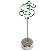 Green Dollar Sign Metal Paper Clip