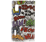 Scrawling Pattern Hard Case for LG Optimus L5 E612