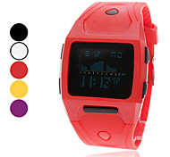 Unisex Multi-Functional Digital Rubber Band Wrist Watch (Assorted Colors) Cool Watches Unique Watches