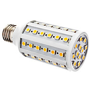 E26/E27 10W 60 SMD 5050 800 LM Warm White T Dimmable LED Corn Lights AC 220-240 V