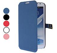 Para Samsung Galaxy Note Flip / Magnética Funda Cuerpo Entero Funda Un Color Policarbonato Samsung Note 2