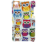 Cute Owls in Linie Muster Hard Case für iPod touch 4
