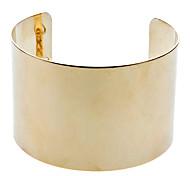 Metal Mirror Chain Gold Bracelet gold