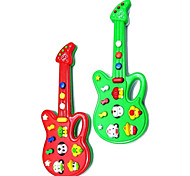 Electric Cartoon Guiter Music Educational Toys(Random Color)