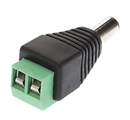 DC Male Adapter Green