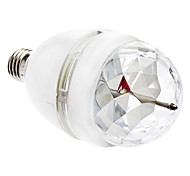 E26/E27 3 W 1 LM RGB/Color-Changing Sound-Activated Globe Bulbs AC 85-265 V