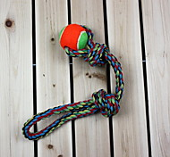 Dogs Toys Chew Toy Rope Textile Green