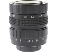 "50mm F1.4 CCTV Lens Micro 2/3 ""C (Black)"