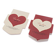 Heart Pattern Colorful Paper Notepad (Random Color)