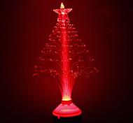E27 Fibra Tree Style Light Decoración Rojo (220)