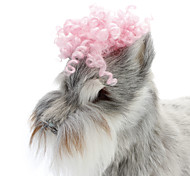 All Seasons Plastic Hair Accessories for Dogs Pink