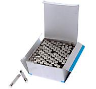 4A Cerâmica Tubo fusível Set (100-Piece Pack / 6 x 30 mm)