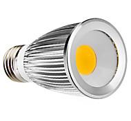 E27 7W 450-500LM 2700-3500K Warm White COB LED Spot Bulb (110-240V)