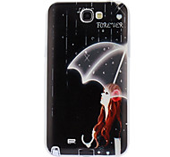 Girl with Umbrella Soft Case for Samsung Galaxy Note 2 N7100