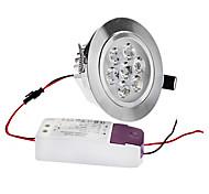 Dimmable 7W 1-500LM 3000-3500K Warm White Light LED Ceiling Bulb (220V)