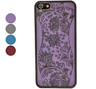 S Shape Body Curve Cheongsam Style Hard Case for iPhone 5/5S (Assorted Colors)