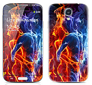 Special Design Front and Back Protector Stickers for Samsung Galaxy S4 I9500