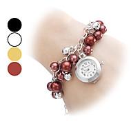 Alliage analogique bracelet montre femme quartz (couleurs assorties)