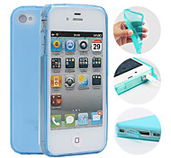 Funda Protectora TPU para iPhone 4/4S (Varios Colores)