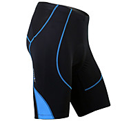 Santic Men's Cycling Shorts Summer Coolmax Breathable Material Cycling 1/2 Pants(Blue) MC05038B