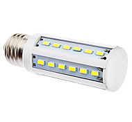 E27 5W 36x5630SMD 400-450LM 5500-6500K Natural White Light LED bulbo del maíz (220-240V)