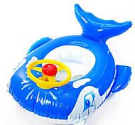Whale Shaped Inflatable Baby Swim Ring(Random Colors)