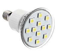 E14 2W 12x5050SMD 90-100LM 6000-7000K luz blanca natural LED del bulbo del punto (230)