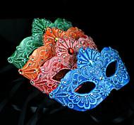 Floral Lace Deco Venetian Mask