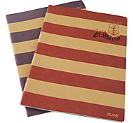 Navy Stripe Series Notebook(Random Colors)
